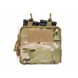 Doble pouch M4, portacartuchos y medic multicam