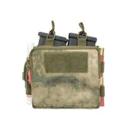 Doble pouch M4, portacartuchos y medic a-tacs fg