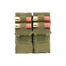 Doble pouch M4 y porta cartuchos verde