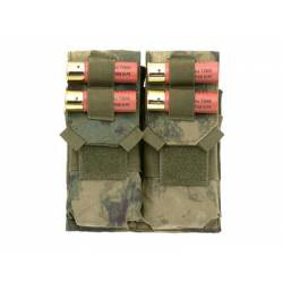 Doble pouch M4 y porta cartuchos a-tacs fg