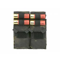 Doble pouch M4 y porta cartuchos multicam black