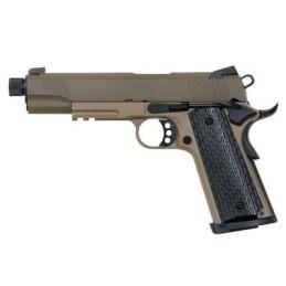 Pistola R28 tan y negro Army