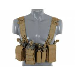 Chaleco compact chest rig V3 tan