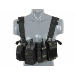 Chaleco compact chest rig V3 multicam black