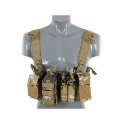 Chaleco compact chest rig V3 multicam