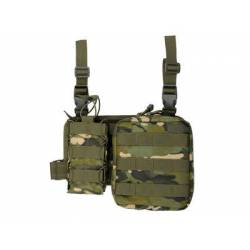 Pouch de pierna doble con panel multicam tropic