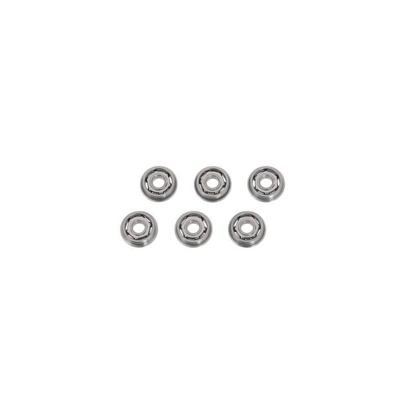 Casquillos metálicos 8 mm con rodamientos
