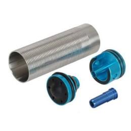 Set silencioso cilindro, cabeza pistón, cabeza cilindro y nozzle V2
