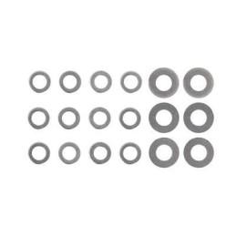 Set de arandelas para shimeado