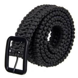 Cinturón paracord negro