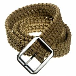 Cinturón paracord tan
