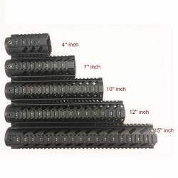 Guardamanos M4 metálico gen2 4'' negro