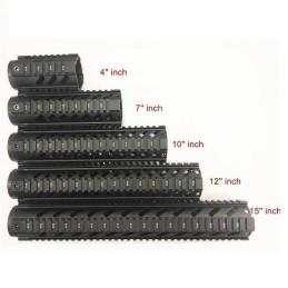Guardamanos M4 metálico gen2 10'' negro