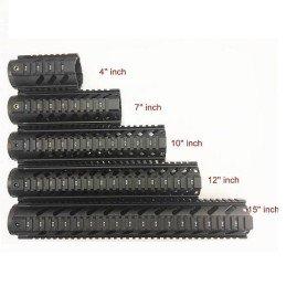 Guardamanos M4 metálico gen2 15'' negro