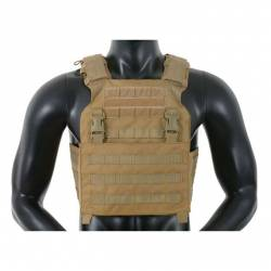 Chaleco buckle up assault plate carrier tan