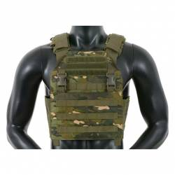 Chaleco buckle up assault plate carrier multicam tropic