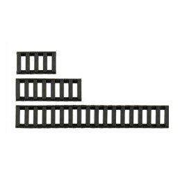Set cubrerailes negros