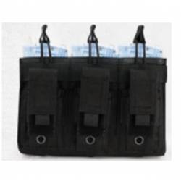 Portacargador triple opentop M4 y pistola negro