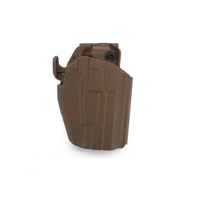Pistolera rígida Glock y USP tan