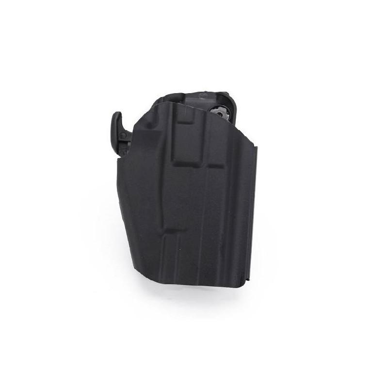 Pistolera rígida Glock y USP negra