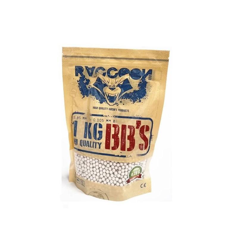 Bolsa 1 kg bolas 0,28 bio Raccoon