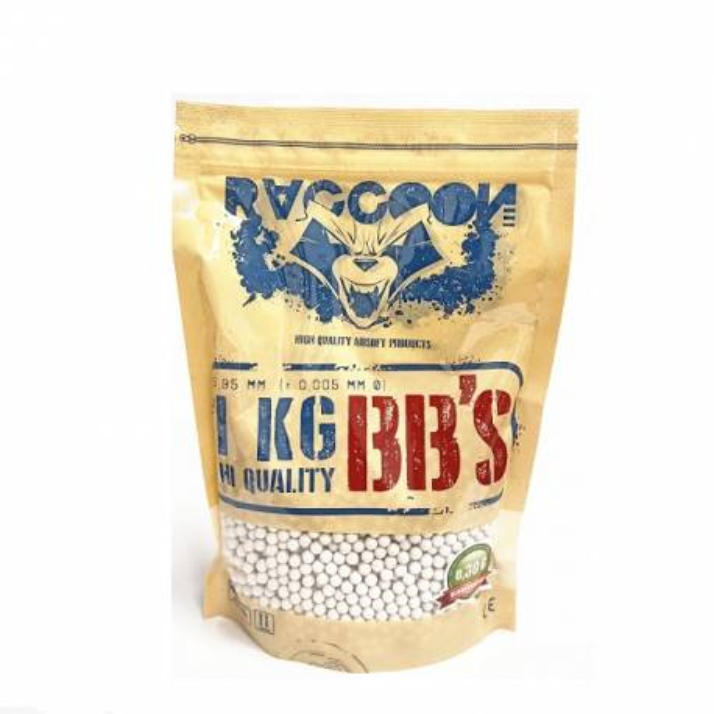 Bolsa 1 kg bolas 0,30 bio Raccoon