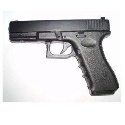 Pistola GBB G17 HG-185ASB negra metal HFC