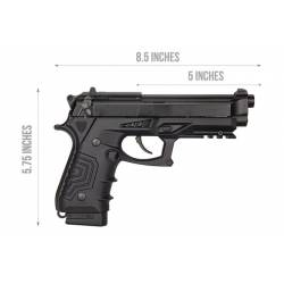 Pistola CO2 M92 HCA-173BBC HFC