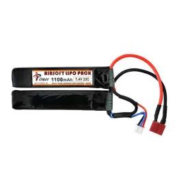 Batería li-po 7,4 V 1100 mAh 20C T-Dean