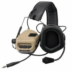 Tactical Hearing Protection M32 tan