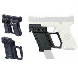 Kit táctico grip negro Glock