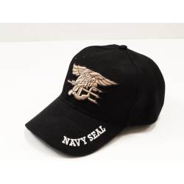 Gorra beisbol Navy Seal negra