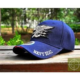 Gorra beisbol Navy Seal azul marino