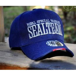Gorra beisbol Seal Team azul marino