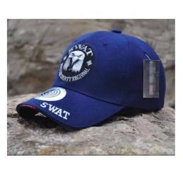 Gorra beisbol Swat Águila azul marino
