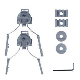 Acople casco fast Zcomt y Headset simple gris