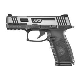 Pistola XFG GBB negra plata ICSBLE005-SH