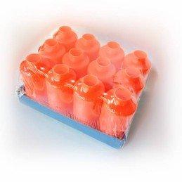 Pack 12 carcasas granada naranja