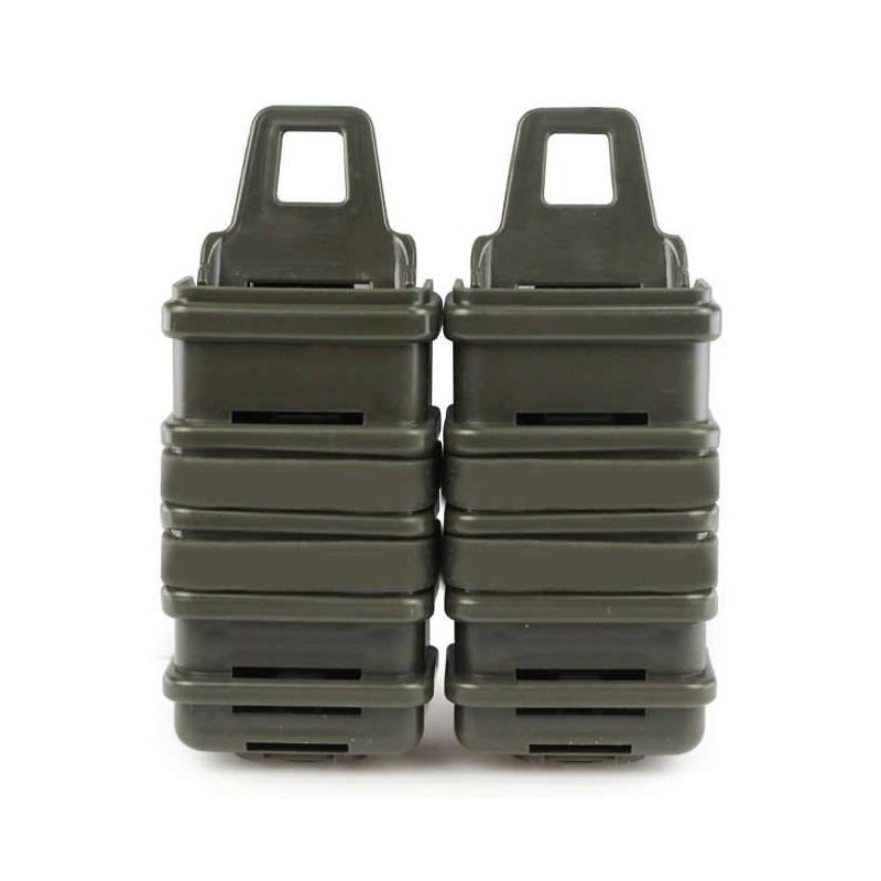 Portacargadores rígidos MP7 verde