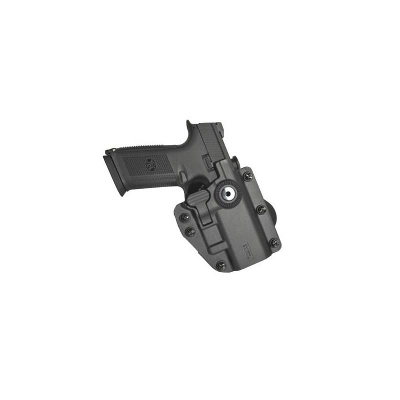Pistolera rígida universal ambidiestra negra