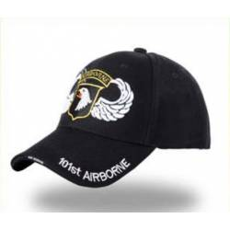 Gorra beisbol US 101st Airborne negra