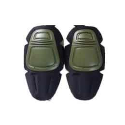 Rodilleras PAD pantalón combat verde