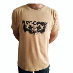 Camiseta Raccoon tan