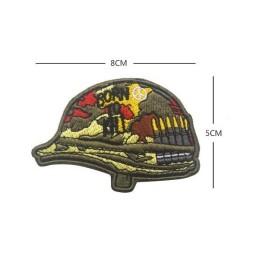 Parche bordado casco Born to Kill