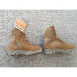 Bota Infantry Special Operation 8 tan con cremallera talla 40