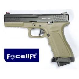 Pistola CO2 ACP601 tan