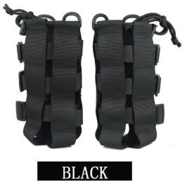 Portabiberón negro