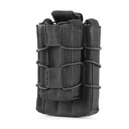 Pouch portacargador M4 y pistola negro