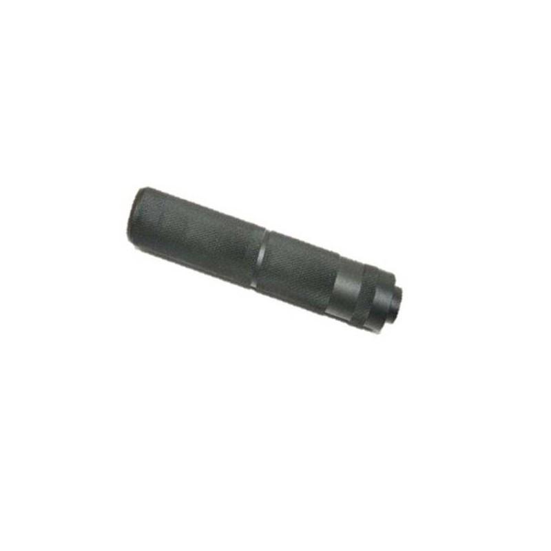 Silenciador mediano 15,5 cm calavera
