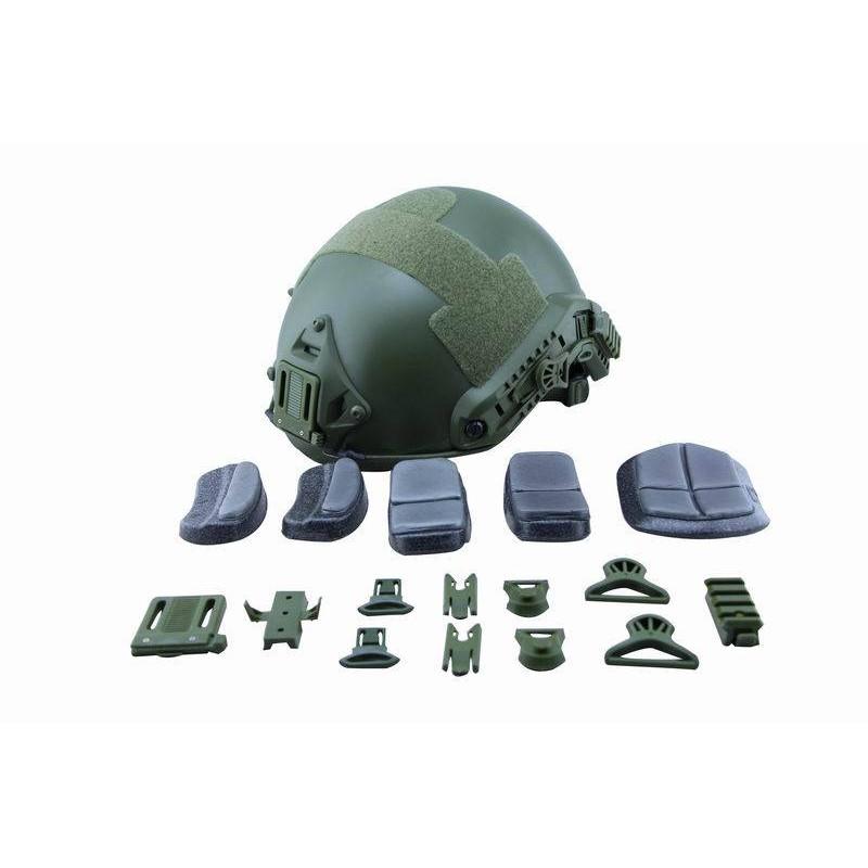 Casco Ballistic verde
